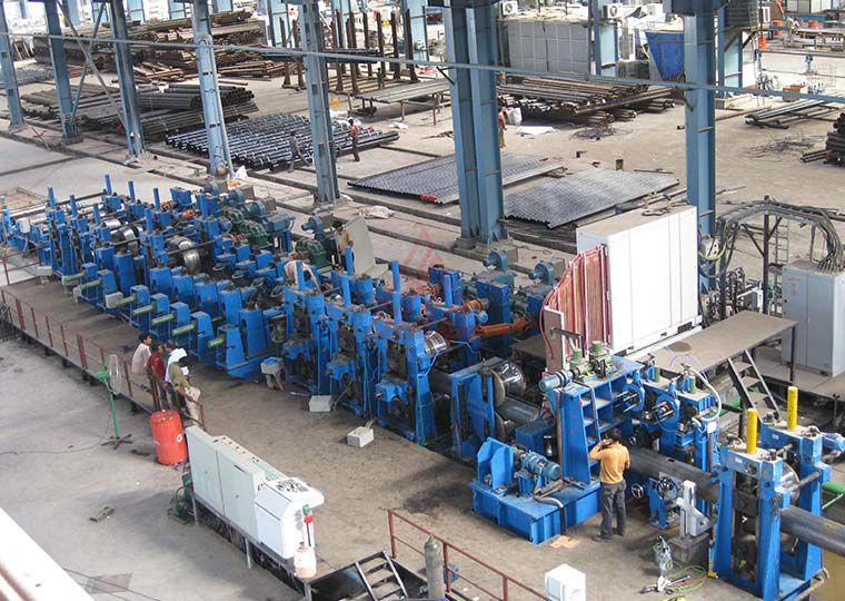 ZF406焊管生产线