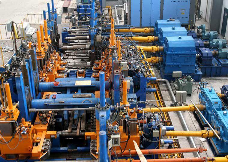 ZF660焊管生产线