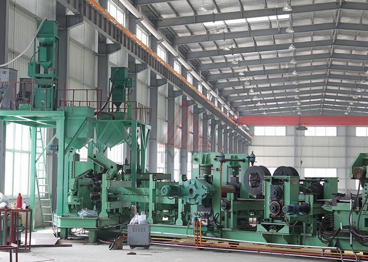 LH-820螺旋焊管生产线