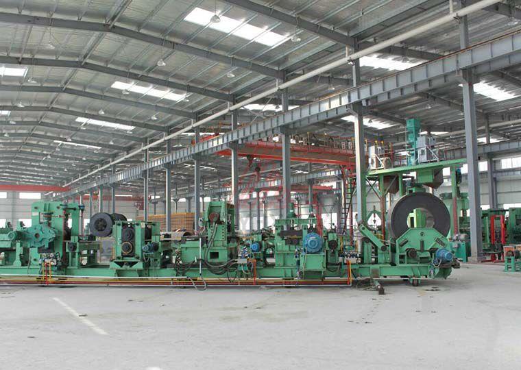LH-1420螺旋焊管生产线